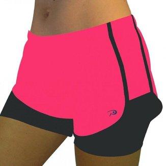 Shorts Placar c/ Bermuda Okayama Feminino