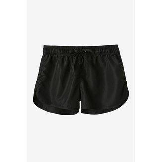 Shorts Roxy Tactel Preto