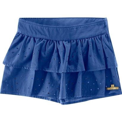 Shorts Saia Infantil Feminino Colorittá