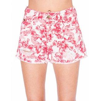 Shorts Sarja Estampado Colcci