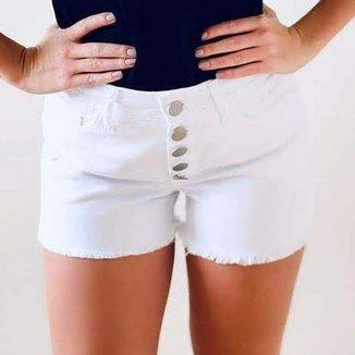 Shorts Sarja - Verona - Santé Denim - 5 Botões Feminino