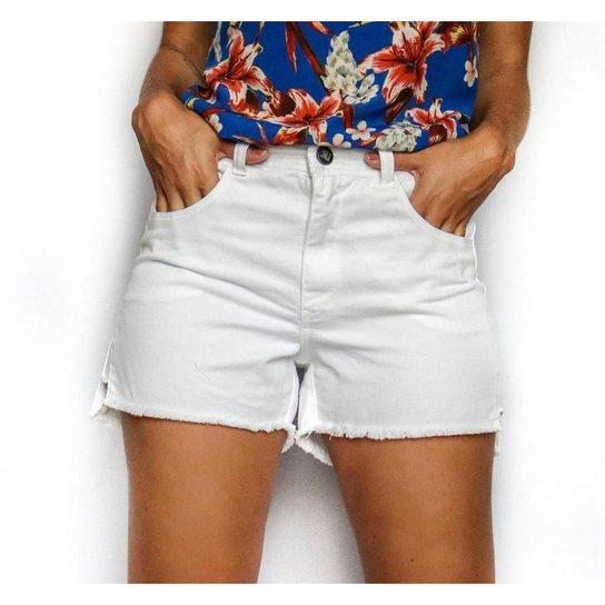 Shorts Sarja - Verona- Santé Denim Feminino - Branco