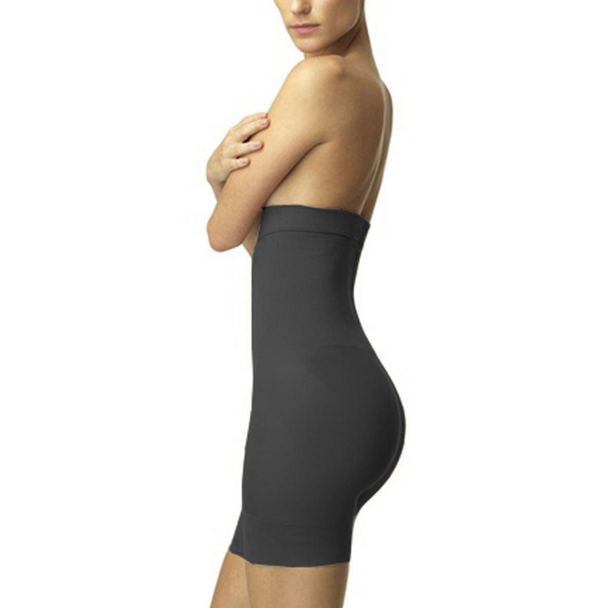 36cc4e3ab Shorts Slim Modelador Redutor Medida Afina Cintura Cinta Loba Lupo - Preto  - Compre Agora