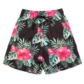 Shorts Summer Flower Aleatory Masculino