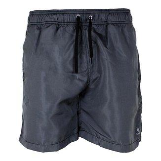 Shorts Tactel Ragor Masculino Liso Bolsos Esportivo Casual