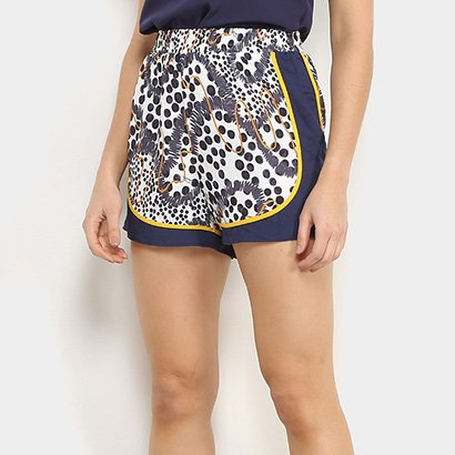 Shorts Triton Estampado Feminino