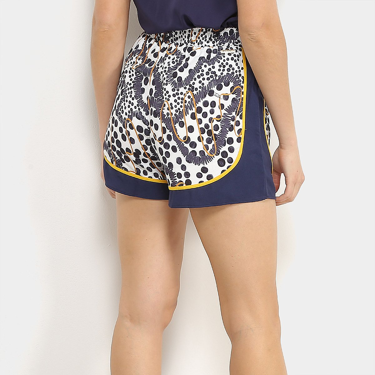 Shorts Triton Estampado Feminino - Estampado