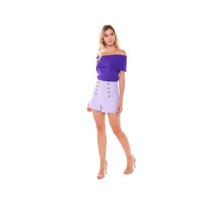 Shorts Tweed Studio 21 Fashion Feminino
