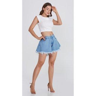 Shorts Use Jeans Express Godê Fernanda Feminino