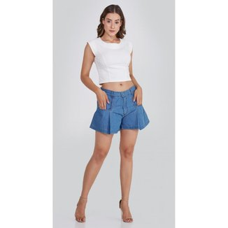 Shorts Use Jeans Express Godê Luiza Feminino