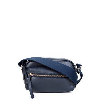 Shoulder Bag Couro Shoestock Transversal Gorgurão Feminina