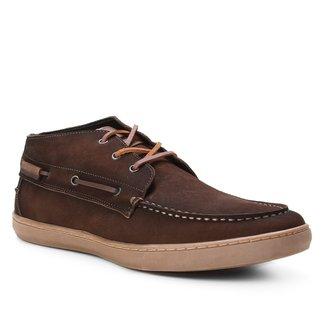 Sider Couro Shoestock Stoned Masculino