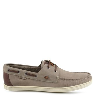 Sider Palm Beach Nobuck DoubleTaupe Taupe Masculino