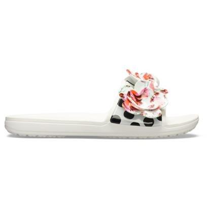 Slide Crocs Sloane Timeless Sld Feminino-Feminino