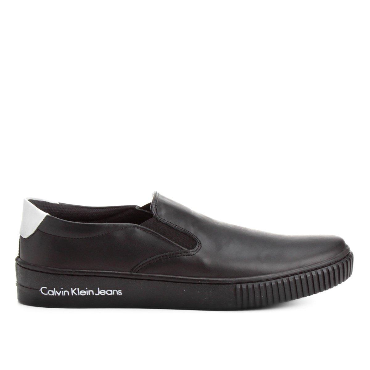 1df588400d Slip On Couro Calvin Klein Iate Masculino - Compre Agora