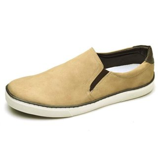 Slip On Couro Top Franca Shoes Masculino