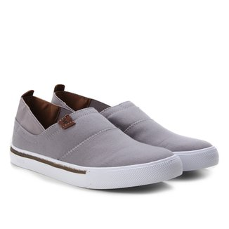 Slip On Couro West Coast Jeans Masculino