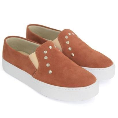 Slip On Dali Shoes Metais Feminino-Feminino