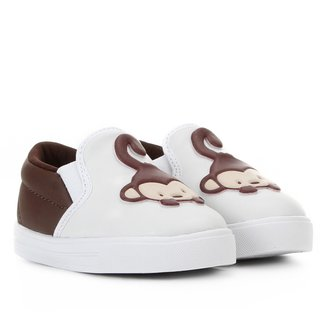 Slip On Infantil Kurz Safari Macaco