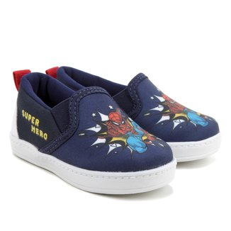 Slip On Infantil Marvel Spider-Man Masculino