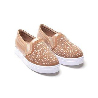 Slip On Nobuk Mizzi Shoes Feminino