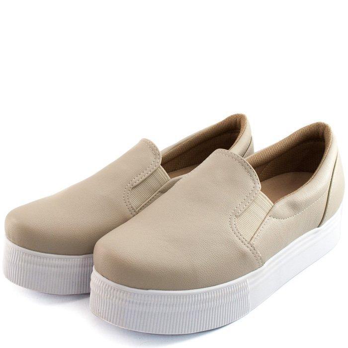 09ab8793be1 Slip On Numeração Especial Sapato Show - Compre Agora