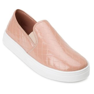 Slip On Sense Way Matelassê Feminina