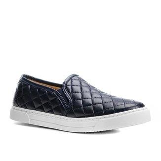 Slip On Shoestock Matelassê Feminino
