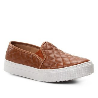 Slip On Shoestock Matelassê Feminino