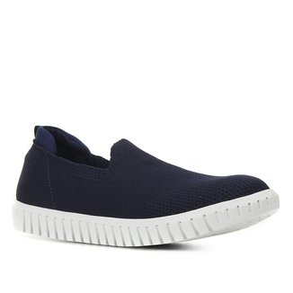 Slip On Shoestock Tricot Femininno