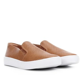Slip On Via Uno Textura Feminino