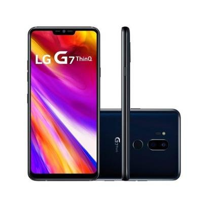 Smartphone LG G7 ThinQ 64GB Preto 4G Octa Core