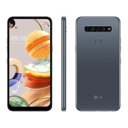 Smartphone LG K61 128GB 4G Octa-Core 4GB RAM 6,53 Unissex-Chumbo