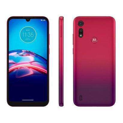 "Smartphone Motorola E6S 32GB 4G - Octa-Core 2GB RAM 6,1"" Câm. Dupla + Selfie 5MP"