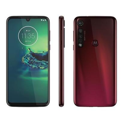 Smartphone Motorola G8 Plus 64GB Cereja 4G - Unissex