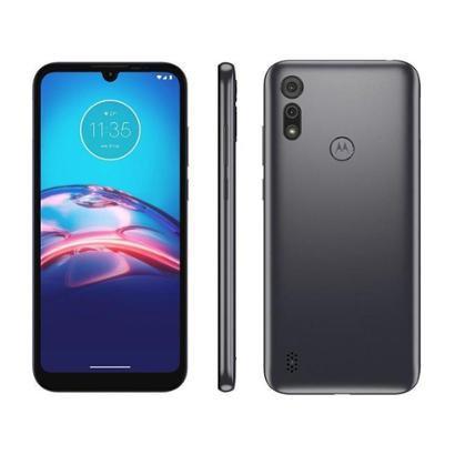"Smartphone Motorola Moto E6S 32GB - 4G Octa-Core 2GB RAM 6,1"" Câm. Dupla + Selfie 5MP"