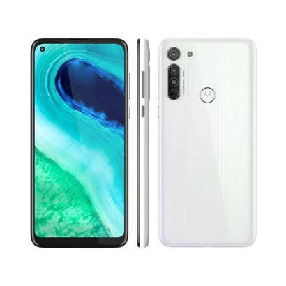 Smartphone Motorola Moto G8 64GB Azul Capri 4G Unissex-Branco