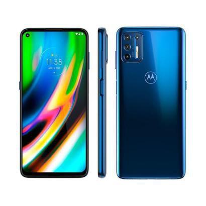 Smartphone Motorola Moto G9 Plus 128GB Octa-Core 4GB RAM 6,8 Cam. Quadrupla + Selfie 8MP Unissex-Azul