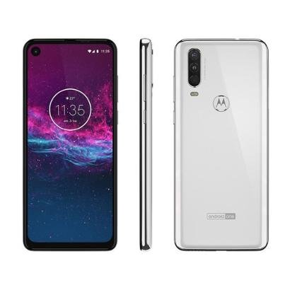 Smartphone Motorola One Action 128GB Branco 4G - Unissex