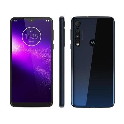 Smartphone Motorola One Macro 64GB Azul Espacial - Unissex