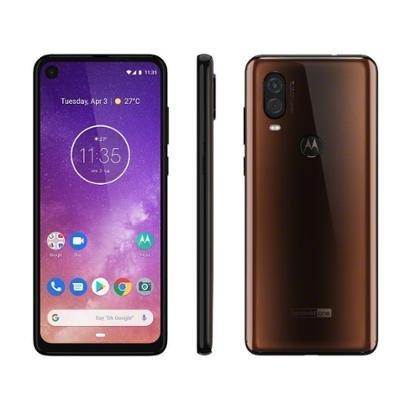 Smartphone Motorola One Vision 128GB Azul Safira - Unissex