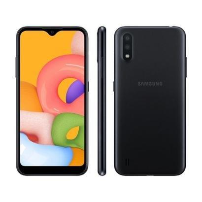 Smartphone Samsung Galaxy A01 32GB Preto 4GB