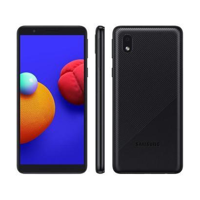 """Smartphone Samsung Galaxy A01 Core 32GB - Quad-Core 2GB RAM Tela 5,3"""" Câm. 8MP + Selfie 5MP"""