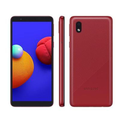 Smartphone Samsung Galaxy A01 Core 32GB Quad-Core 2GB RAM Tela 5,3 Cam. 8MP + Selfie 5MP Unissex-Vermelho