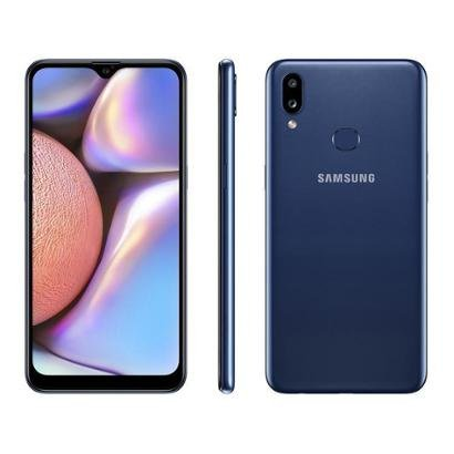 Smartphone Samsung Galaxy A10s 32GB 4G Octa-Core 2GB RAM 6,2 Unissex-Azul