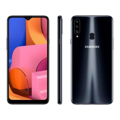 Smartphone Samsung Galaxy A20s 32GB Preto 4G