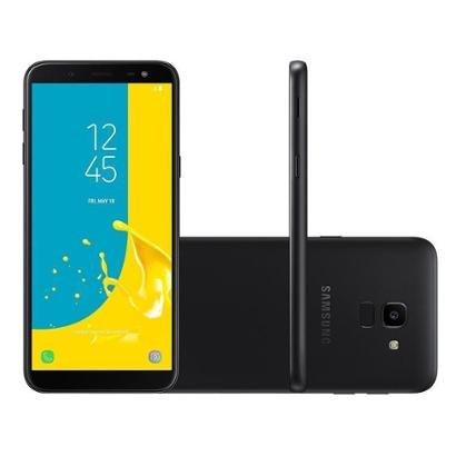Smartphone Samsung Galaxy J6 64GB Preto 4G Unissex-Preto