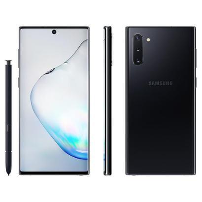 Smartphone Samsung Galaxy Note 10 256GB Preto 4G Unissex-Preto