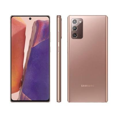 Smartphone Samsung Galaxy Note 20 256GB Mystic 8GB RAM Tela 6,7 Cam. Tripla + Selfie 10MP Unissex-Bronze