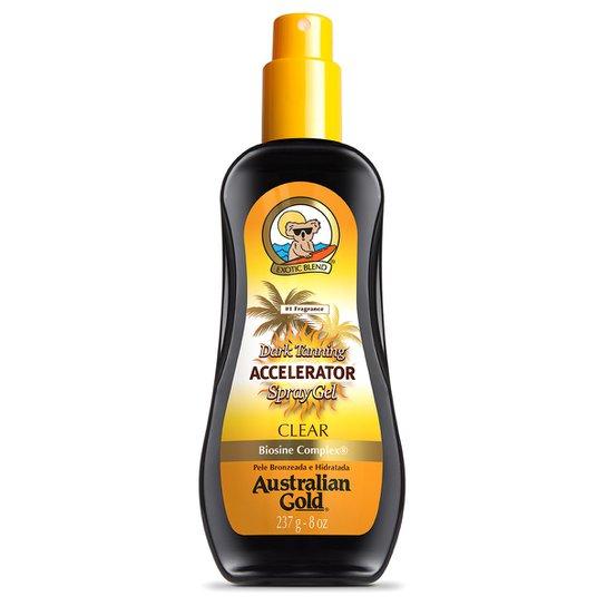 Spray Gel Bronzeador Australian Gold Dark Tanning Accelerator 237ml - Incolor